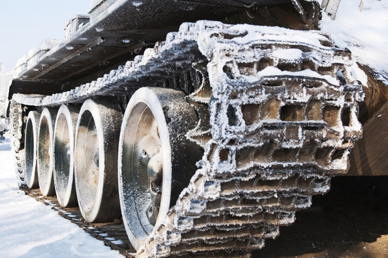 Have you ever seen a car crushed by a tank - we haven't either!